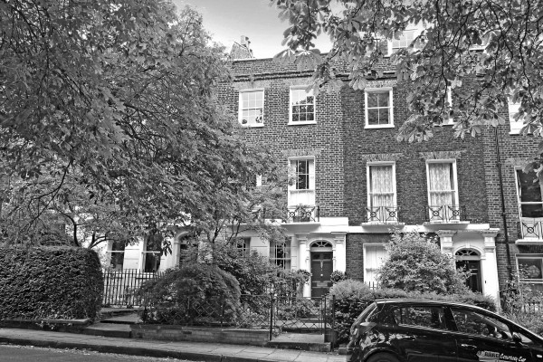 Grove Terrace 19_ext B&W